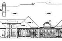 Dream House Plan - European Exterior - Rear Elevation Plan #310-635