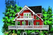 Cottage Style House Plan - 2 Beds 2 Baths 1904 Sq/Ft Plan #118-112 Photo
