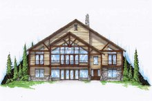 House Plan Design - Bungalow Exterior - Front Elevation Plan #5-377