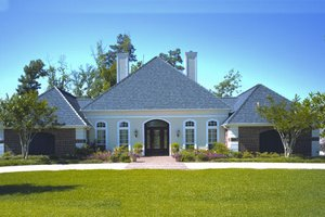 House Plan Design - European Exterior - Front Elevation Plan #45-333