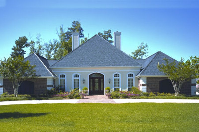 Home Plan Design - European Exterior - Front Elevation Plan #45-333