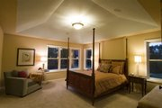 Craftsman Style House Plan - 4 Beds 3.5 Baths 2909 Sq/Ft Plan #56-597 Interior - Master Bedroom