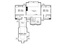 Cottage Floor Plan - Upper Floor Plan Plan #929-23
