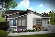 House Plan Design - Ranch Exterior - Front Elevation Plan #70-1452