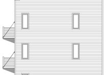 Contemporary Exterior - Covered Porch Plan #932-127