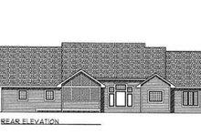 Traditional Exterior - Rear Elevation Plan #70-340