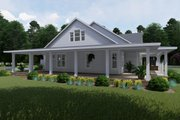 Farmhouse Style House Plan - 3 Beds 2 Baths 2748 Sq/Ft Plan #120-254 Exterior - Other Elevation