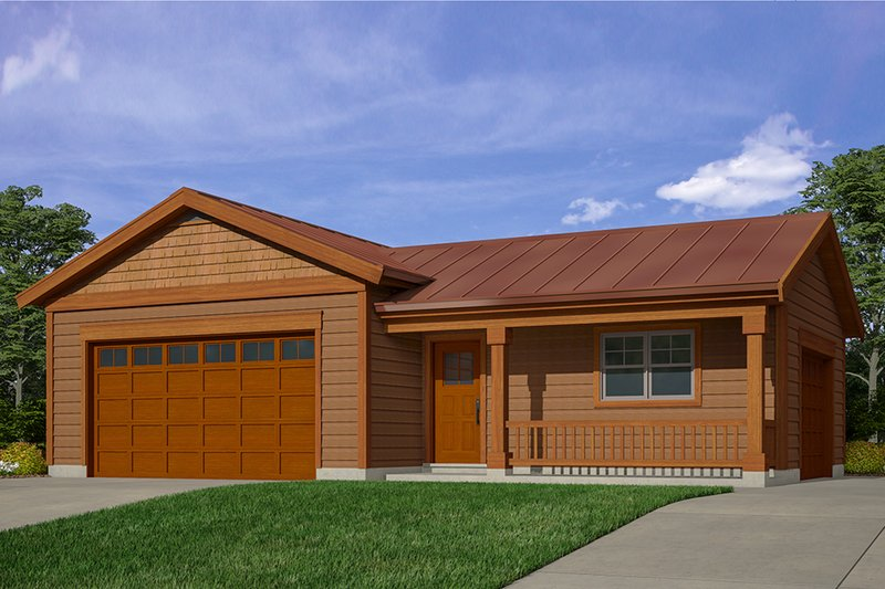 House Design - Traditional Exterior - Front Elevation Plan #118-176