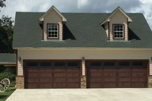 Country Exterior - Front Elevation Plan #932-152