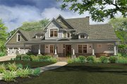 Farmhouse Style House Plan - 3 Beds 3 Baths 2414 Sq/Ft Plan #120-189 Exterior - Front Elevation