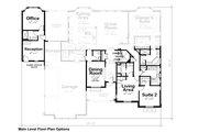 European Style House Plan - 4 Beds 4 Baths 3015 Sq/Ft Plan #20-2361 Floor Plan - Other Floor Plan