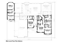 European Floor Plan - Other Floor Plan Plan #20-2361