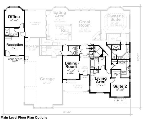 European Floor Plan - Other Floor Plan Plan #20-2361
