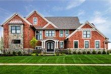 Craftsman Exterior - Front Elevation Plan #928-321