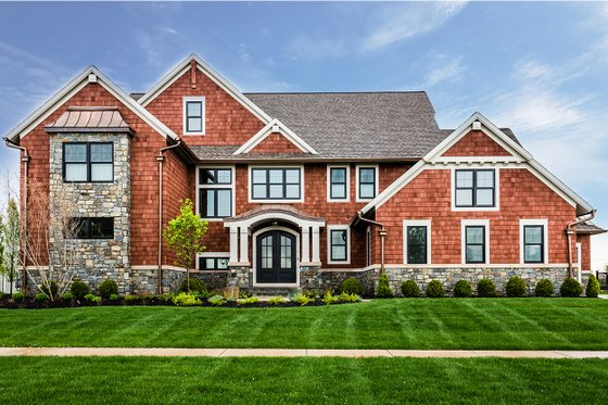 Dream House Plan - Craftsman Exterior - Front Elevation Plan #928-321