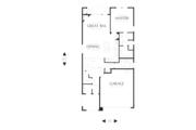 Cottage Style House Plan - 3 Beds 2.5 Baths 1712 Sq/Ft Plan #48-575 Floor Plan - Main Floor Plan