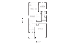 Cottage Floor Plan - Main Floor Plan Plan #48-575