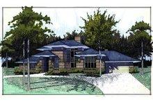 Home Plan - Prairie Exterior - Front Elevation Plan #120-117