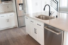 Architectural House Design - Craftsman Interior - Kitchen Plan #1070-35