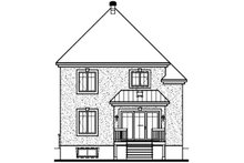 European Exterior - Front Elevation Plan #23-374