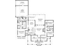 Farmhouse Floor Plan - Main Floor Plan Plan #1074-18