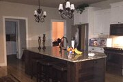 Farmhouse Style House Plan - 4 Beds 3 Baths 2039 Sq/Ft Plan #17-3420 Interior - Kitchen