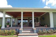 Ranch Exterior - Covered Porch Plan #1058-173