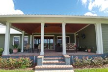 Home Plan - Ranch Exterior - Covered Porch Plan #1058-173