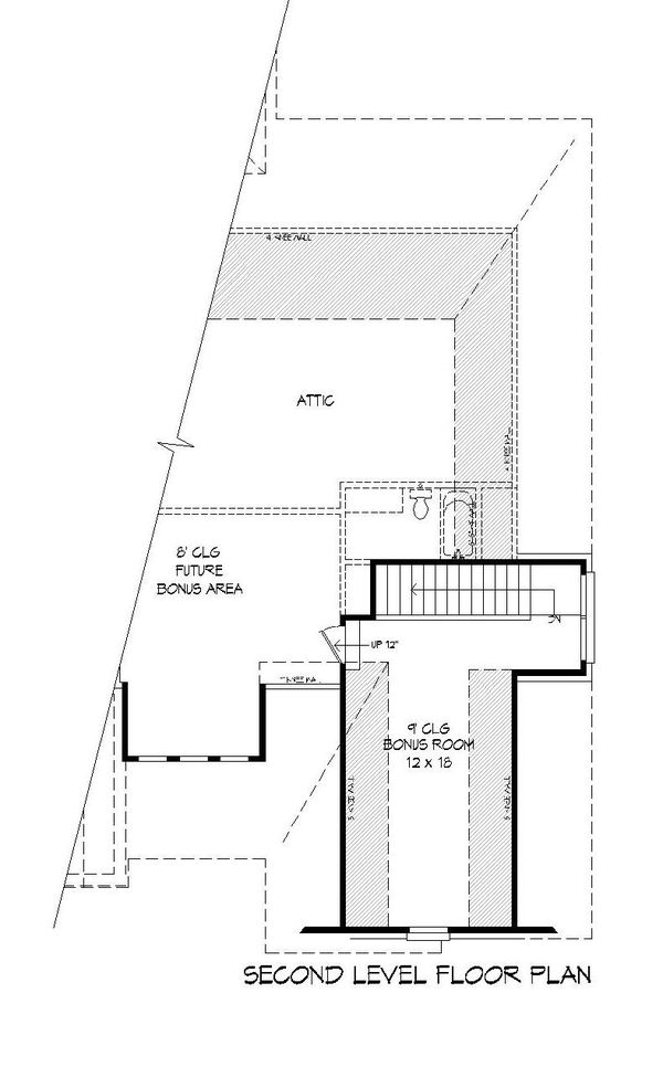 Dream House Plan - Craftsman Floor Plan - Upper Floor Plan #932-280