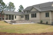 Contemporary Style House Plan - 5 Beds 6.5 Baths 5576 Sq/Ft Plan #1054-32 Exterior - Rear Elevation