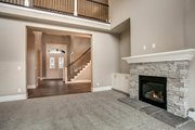 Traditional Style House Plan - 6 Beds 4 Baths 3620 Sq/Ft Plan #1066-70 Interior - Family Room