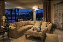 House Plan Design - Mediterranean Interior - Family Room Plan #930-15