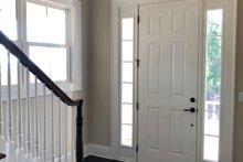 Farmhouse Interior - Entry Plan #437-92