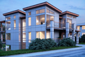 Contemporary Style House Plan - 4 Beds 4 Baths 3896 Sq/Ft Plan #1066-31 Exterior - Other Elevation