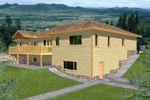 House Plan Design - Traditional Exterior - Front Elevation Plan #117-289