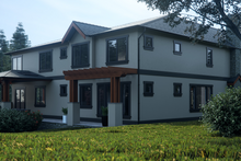 Home Plan - Contemporary Exterior - Rear Elevation Plan #1066-36