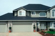 Dream House Plan - Traditional Exterior - Front Elevation Plan #124-345