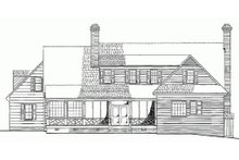 Dream House Plan - Rear view - 3500 square foot Colonial Home