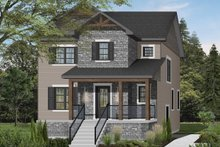Architectural House Design - Craftsman Exterior - Front Elevation Plan #23-2643