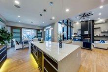 Contemporary Interior - Kitchen Plan #1066-24