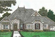 House Plan Design - European Exterior - Front Elevation Plan #310-1281