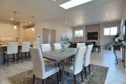 Prairie Style House Plan - 3 Beds 2 Baths 2362 Sq/Ft Plan #124-1195 Interior - Dining Room