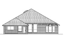 Traditional Exterior - Rear Elevation Plan #84-368