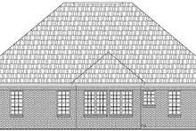 House Plan Design - Ranch Exterior - Rear Elevation Plan #21-182