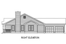 Dream House Plan - Farmhouse Exterior - Other Elevation Plan #57-117