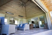 European Style House Plan - 4 Beds 4.5 Baths 6554 Sq/Ft Plan #923-69 Exterior - Outdoor Living