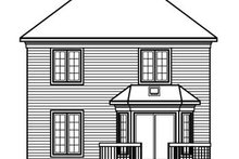 Dream House Plan - European Exterior - Rear Elevation Plan #23-2172