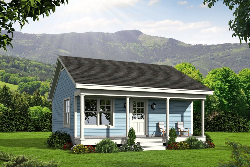 House Plan Design - Traditional Exterior - Front Elevation Plan #932-101