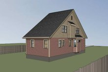 Dream House Plan - Cottage Exterior - Other Elevation Plan #79-177