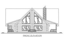 Dream House Plan - Log Exterior - Other Elevation Plan #117-503